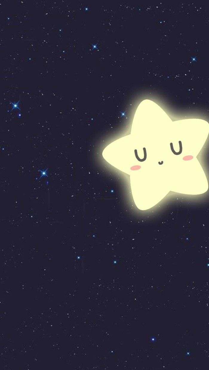 Little Star ★ Find more #kawaii wallpapers for your #iPhone + #Android @prettywallpaper