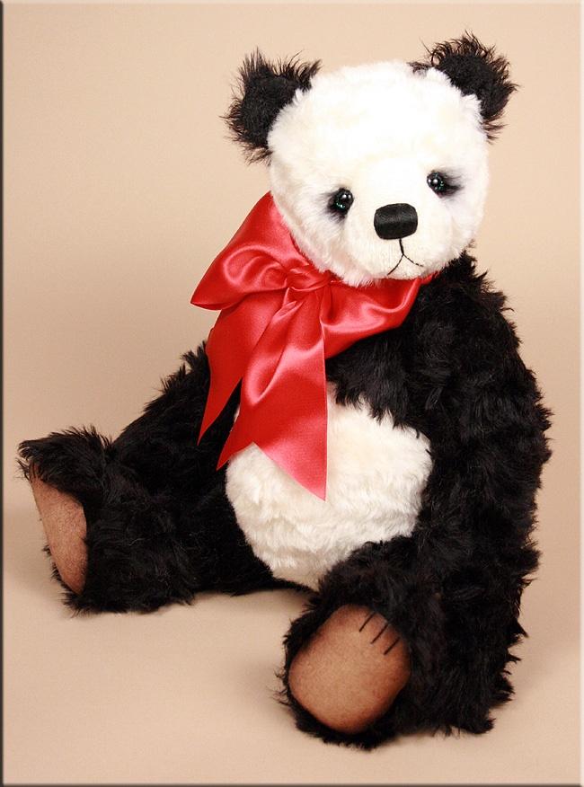 Fausto  #teddy  created by Paula Carter  www.allbear.co.uk