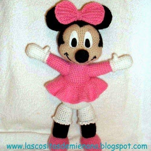 Patron Amigurumi Baby Minnie : Patrones Amigurumi: Minnie Mouse Gratis h?kleopskrifter ...