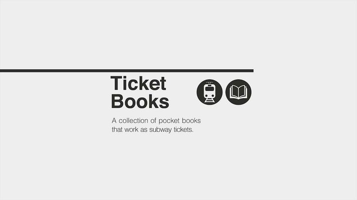 Ticket Books