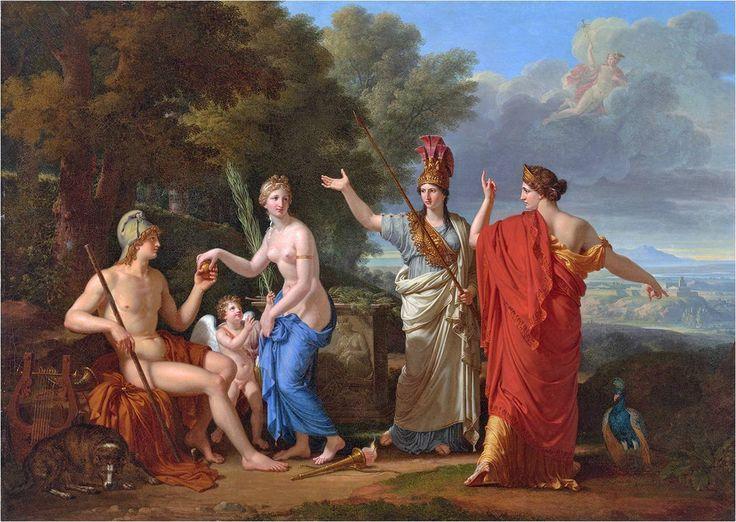 Paridův soud (Judgement of Paris) - Francois Xavier Fabre
