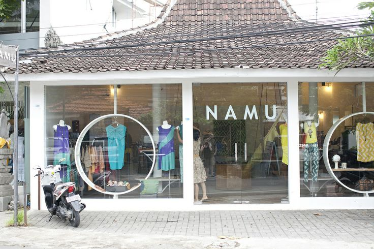 NAMU shop in Bali - amazing kaftans