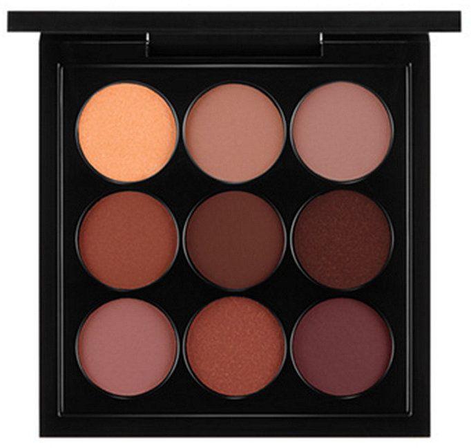 MAC Eye Shadow x 9: Burgundy