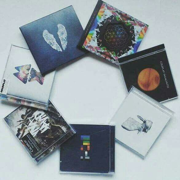 #Coldplay - Ghoststories_A head full of dreams_ Parachute_ A rush of blood to the head _X n Y_ Prospekts march_ Mylo Xyloto!!