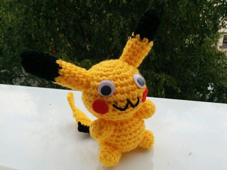 Amigurumi Pikachu  https://www.etsy.com/listing/475851909/pikachu-pokemon-crochet-amigurumi?ref=shop_home_active_5