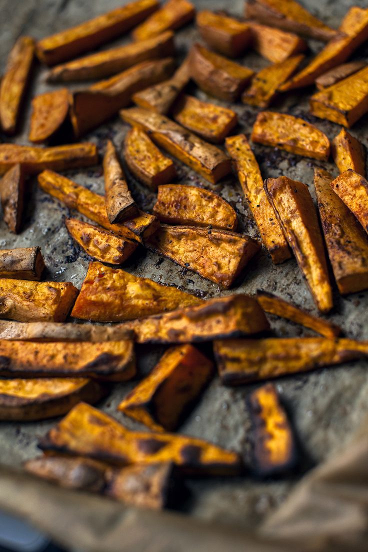 Sweet Potato Fries - see more at http://honestmunchies.com/