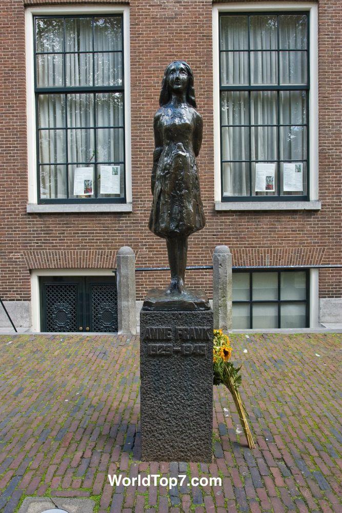 Anne Frank Museum - Jordaan - Amsterdam - The Netherlands