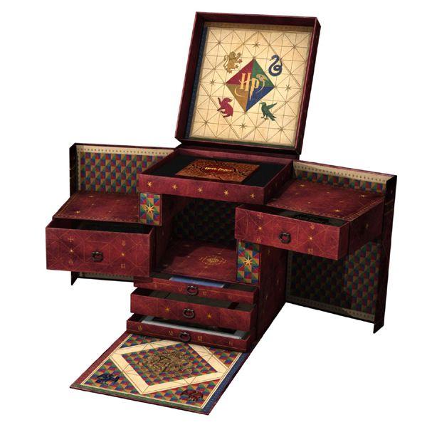 Olha por dentro!!! Box especial Harry Potter. Preciso MUITO! $349 na Amazon em pré-venda!