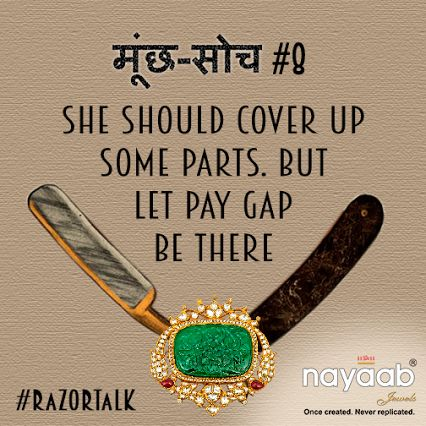 Shave it off with #RazorTalk! Do what you #dream, and don't listen to such #MunchSoch! #womenintec