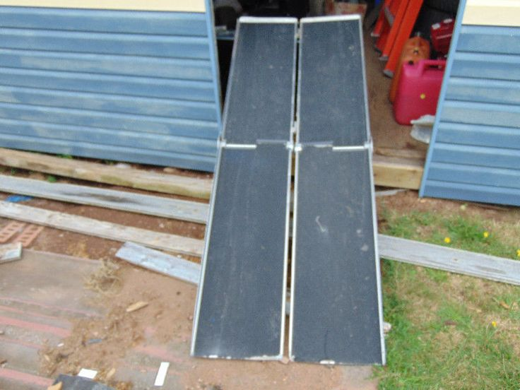 """this ramp is in good shape and can still be installed in a van if wanted or used as a portable ramp.it is 26"""" wide and 72"""" long. to find out more about this ramp visit the manufactures site through goggle. prairie view industries. reason for selling van it was in is scrapped and now drive a car. a new folding ramp this size would run close to or over $400. can deliver"""