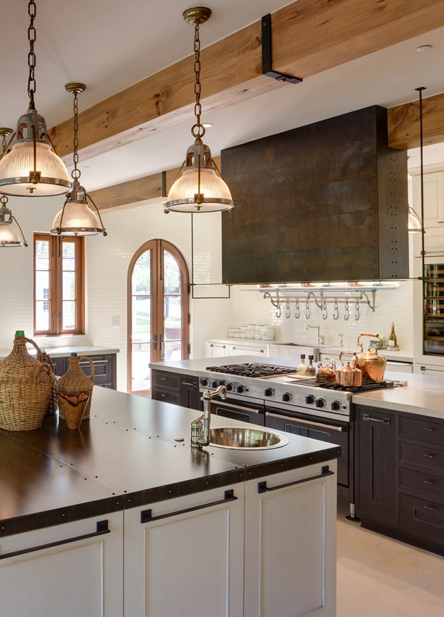 Metal hood and counter by Raw Urth