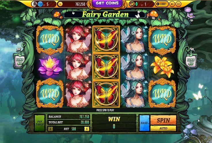 fantasy slot game ui