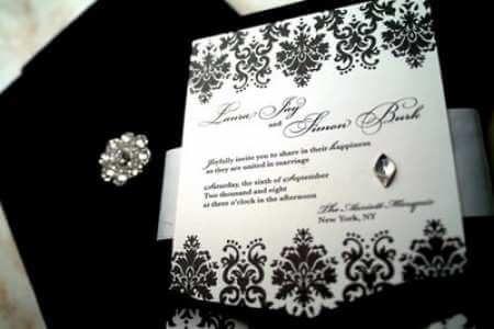 Atractivos Como hacer fáciles y hermosas invitaciones para bodas.