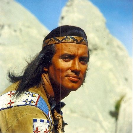 Pierre-Louis Baron de Bris (6 February 1929 – 6 June 2015), known as Pierre Brice, was a French actor, best known as fictional Apache-chief Winnetou in German Karl May films.