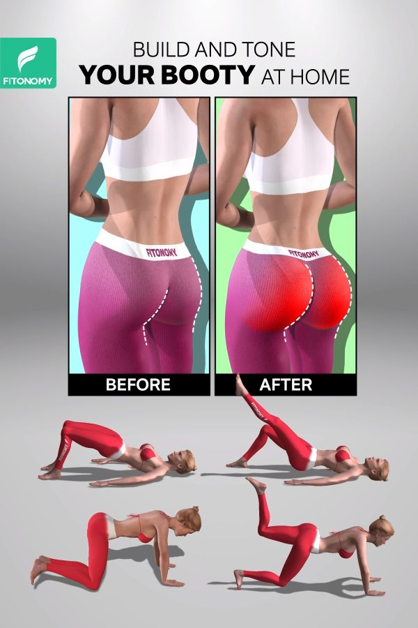 BUILD AND TONE YOUR BOOTY AT HOME