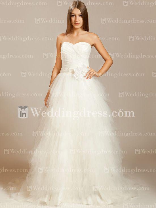 Best 25 strapless wedding dresses ideas on pinterest for Hawaiian wedding dresses informal
