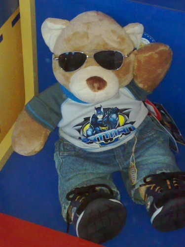 wikiHow to Make a Teddy Bear -- via wikiHow.com, 21 crosses+teddy bear, Newtown