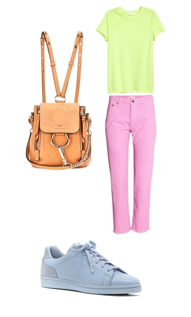 Color Set 6 Квадрат by elena230-1 on Polyvore featuring мода, ED Ellen DeGeneres and Chloé