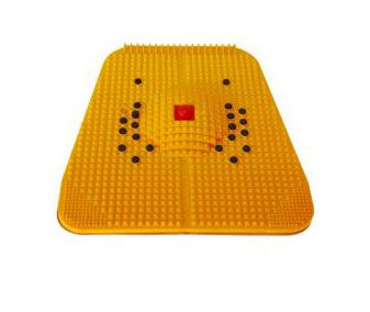 The acupressure exerciser mat activates your 64 acupressure points under your feet that corrospond to each and every organs inside the human body.  The pyramidal raised part of the power mat activates each and every nerve endings under your feet. It cures constipation, acidity, diabetes, indigestion and renal problems. The curved middle part of the acupressure power mat exerciser activates the  most senitive parts of the inner sole. Power mat is ...