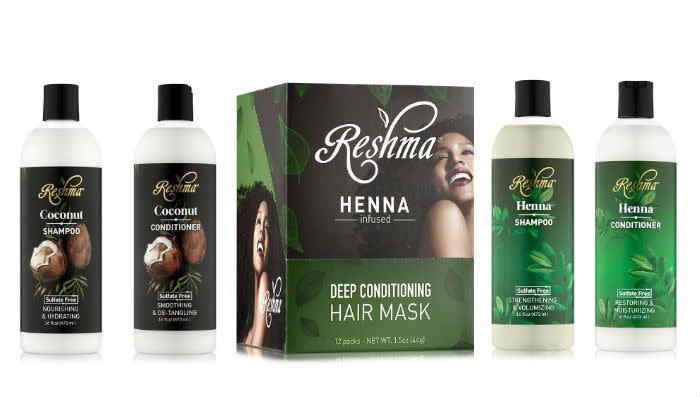 Sharing beauty traditions with the world!Reshma Beauty products provide you with healthy and environmentally friendly options for beautification. The giveaway includes:Reshma Beauty Henna Coconut Nourishing Sulfate-Free Shampoo (16 oz.)Reshma Beauty Henna Coconut Smoothing Sulfate-Free Conditioner (16 oz.)Reshma Beauty Henna Strengthening Sulfate-Free Shampoo (16 oz.)Reshma Beauty Henna Restoring Sulfate-Free Conditioner (16 oz.)Reshma Beauty Henna-Infused Deep Conditioning Hair Mask (1.5…