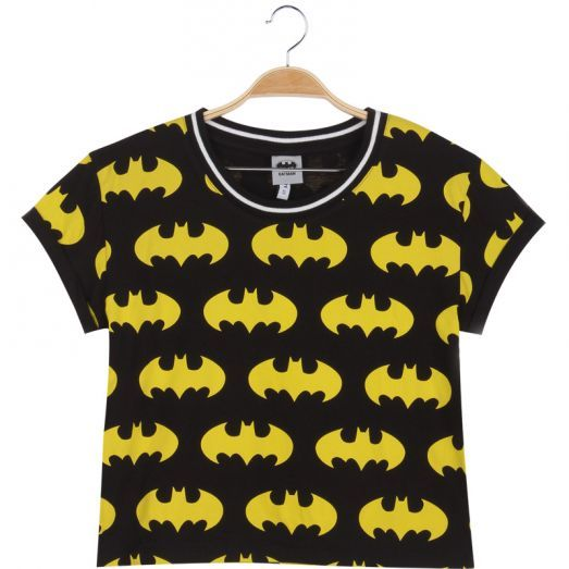 Bring super power with you to the festival!  #tshirt #colorful #cute #festivaloutfit #fun #batman #yellow #fashion #forwomen #glostory #sleeveless