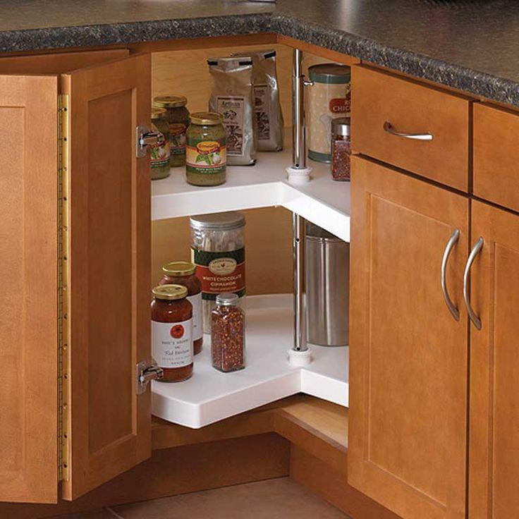 Kitchen Corner Cabinet Ideas: 1000+ Ideas About Corner Cabinet Storage On Pinterest