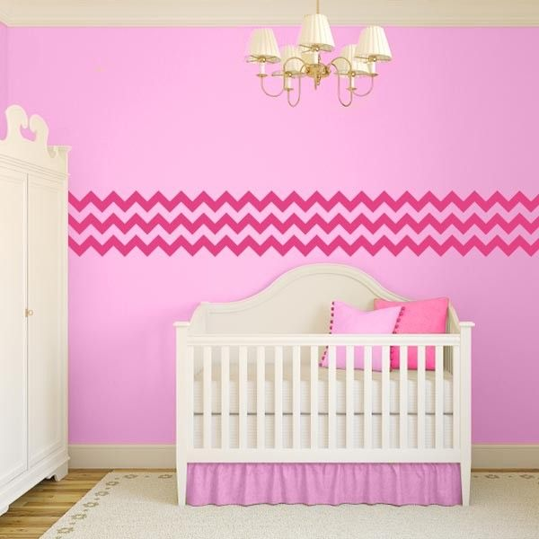 Best 25+ Pink Chevron Walls Ideas On Pinterest