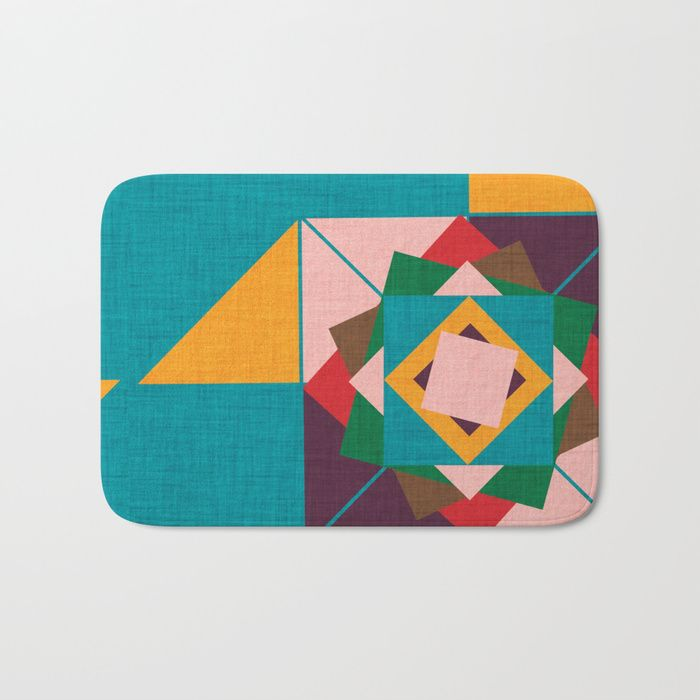 Buy wind rose teal Bath Mat by susycosta. Worldwide shipping available at Society6.com. Just one of millions of high quality products available.#bathroom #bathroomideas #bathdecor #interiordesign #interiordesignideas #showercurtain #showerdesign #bathmath #midcenturymodern #midcentury #midcenturydecor