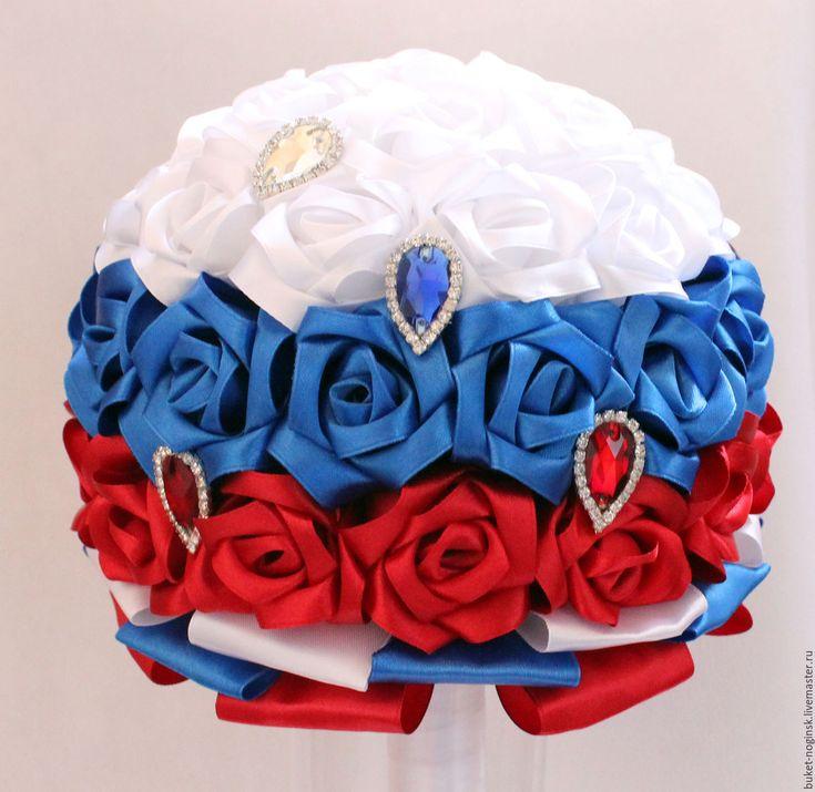 """Купить Брошь-букет """"Россиянка"""" - ногинск, электросталь, букет, букет невесты, букет на свадьбу"""