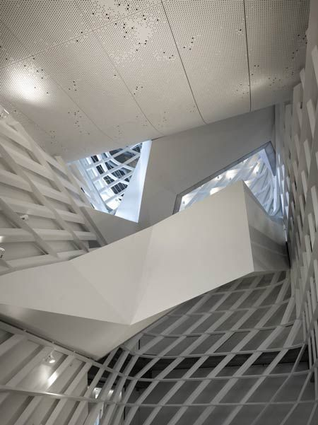 Cooper Union Square, New York City. Thom Mayne. Morphosis. 2009