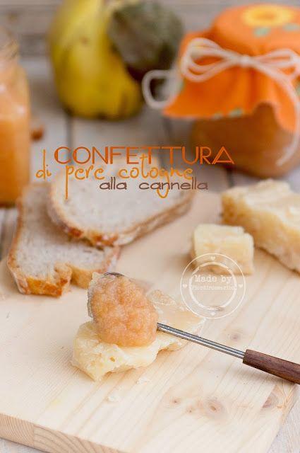 Fiordirosmarino: Confettura di pere cotogne alla cannella