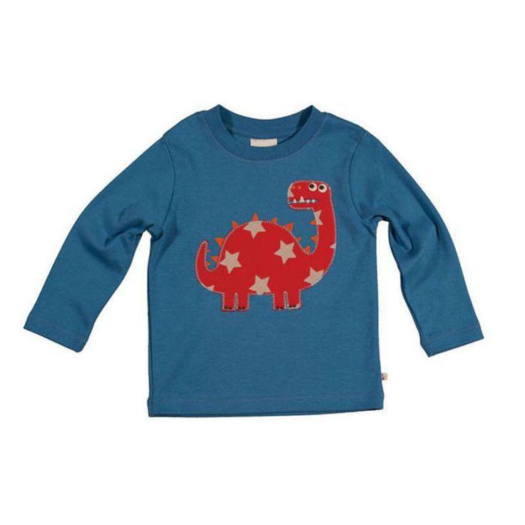 Frugi Μπλουζάκι με Δεινόσαυρο - Sunnyside