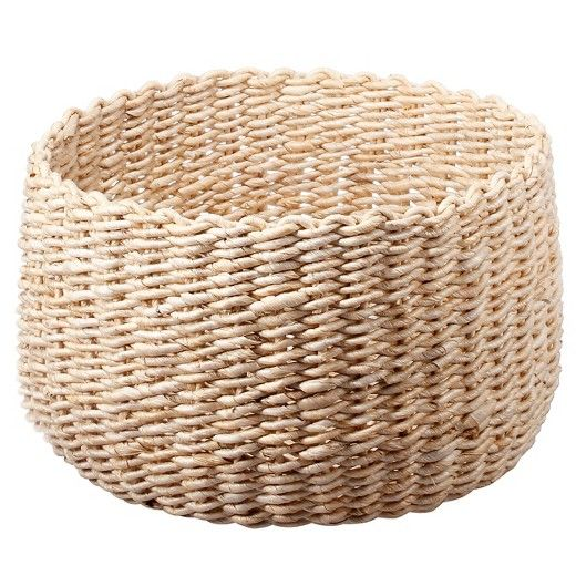- Woven Basket, $18