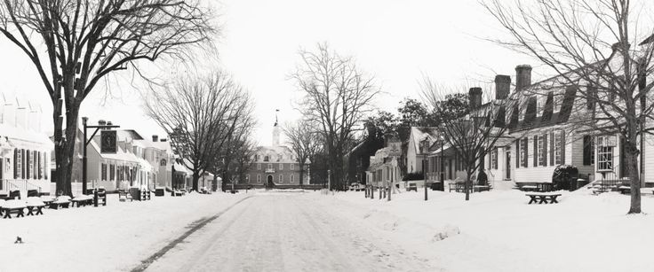 Photo Essay: A Foot of Snow Transforms the Historic Area into a Winter Wonderland! | Making History