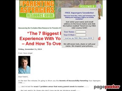 The Parenting Aspergers Resource Guide Volume 2  aspergers, aspergers disease, aspergers disorder, aspergers syndrome, autism aspergers