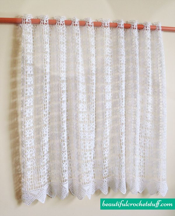 19 Best Crochet Curtains Images On Pinterest