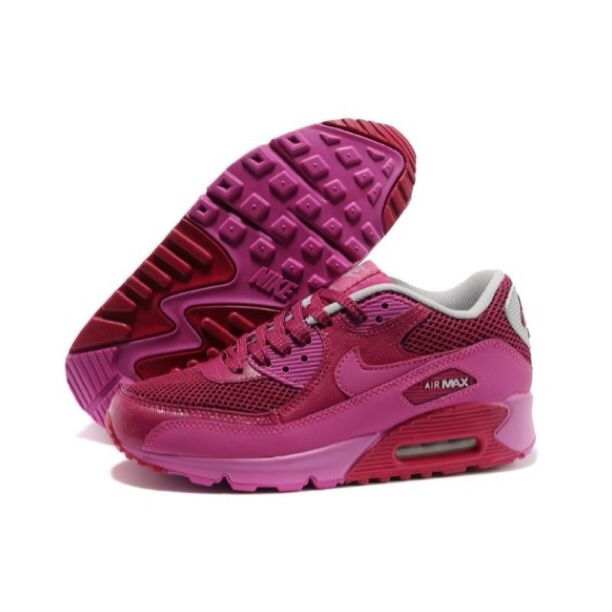 Supply New Air Max 90 Premium EM Womens Shoes Rose Red closeout sales online