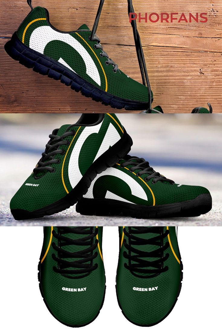 Green Bay Packer Shoes Green Bay Packers Shoes Packers Clothing Nfl Green Bay
