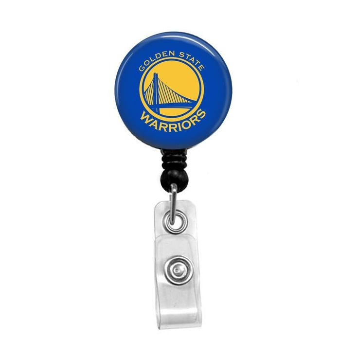NBA Golden State Warriors Retractable Badge Reel ID Holder #GoldenStateWarriors