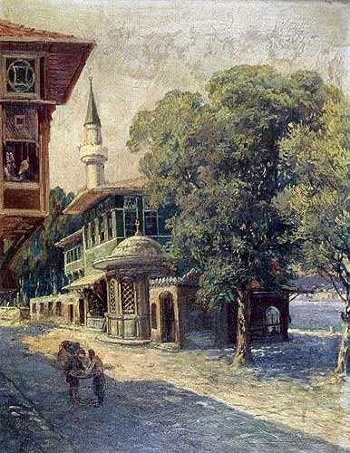HOCA ALI RIZA ......   1958 - 3/20/1030  ....  Turkish Impressionist