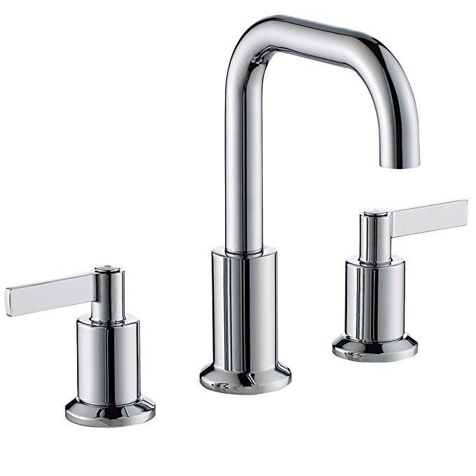 Timearrow Taf288s Mt Two Handle 8 Inch Widespread Bathroom Sink
