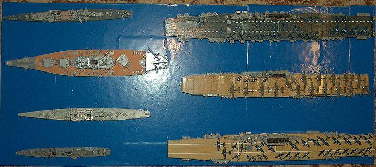 US-Flotte 2. Weltkrieg 1:700