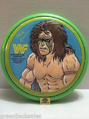 (TAS008518) - WWE WWF WCW Wrestling Ultimate Warrior Flying Disc