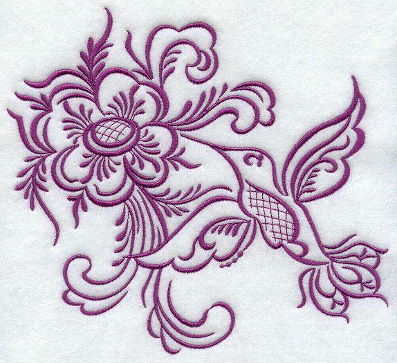 Norwegian Rosemaling Patterns