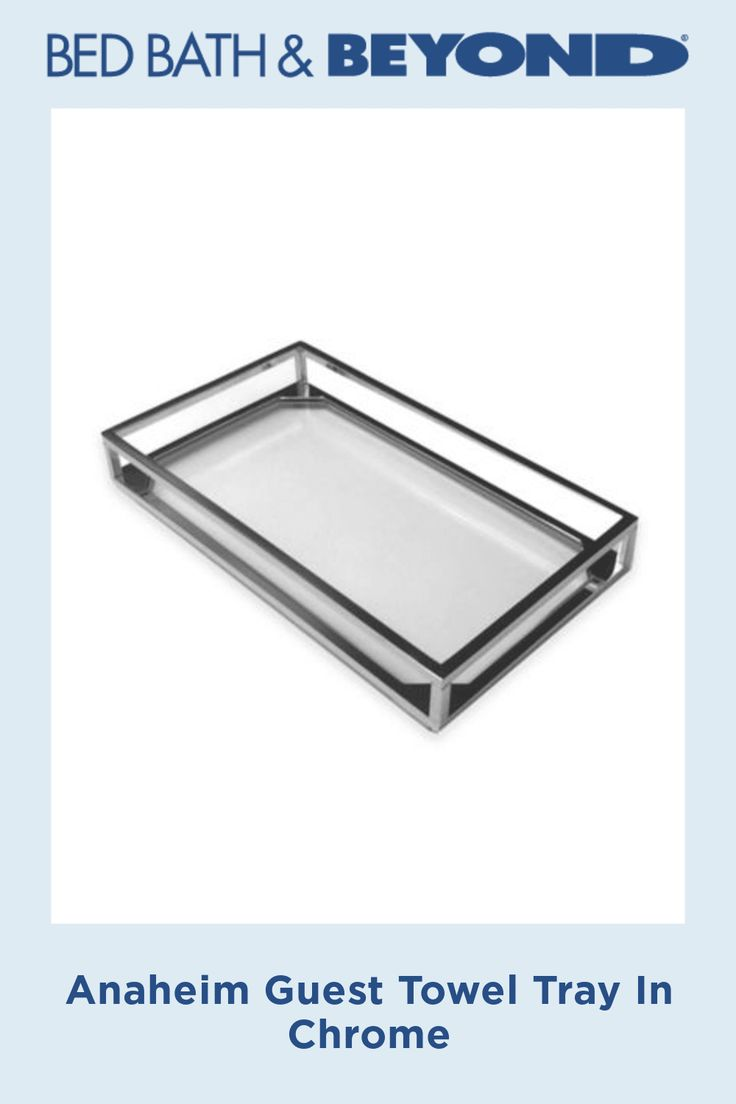 Anaheim Guest Towel Tray In Chrome Guest Towel Tray Paper Guest