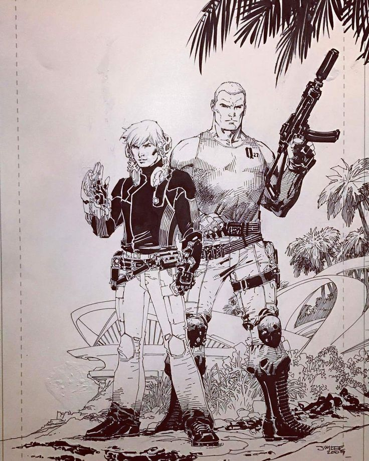 Jonny Quest by Jim Lee