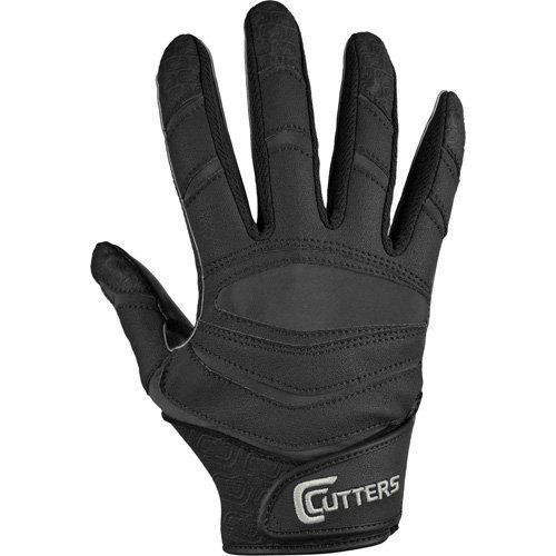 Cutters Gloves C-TACK Revolution Solid Football Gloves (Black, Medium) by Cutters. $35.40. The NEW X40 in Solid Colors. Check out the pros making amazing grabs with this color style. The X40 Solid features the best combination of performance and durability, and is ideal for receivers, running backs, defensive backs, and returners.