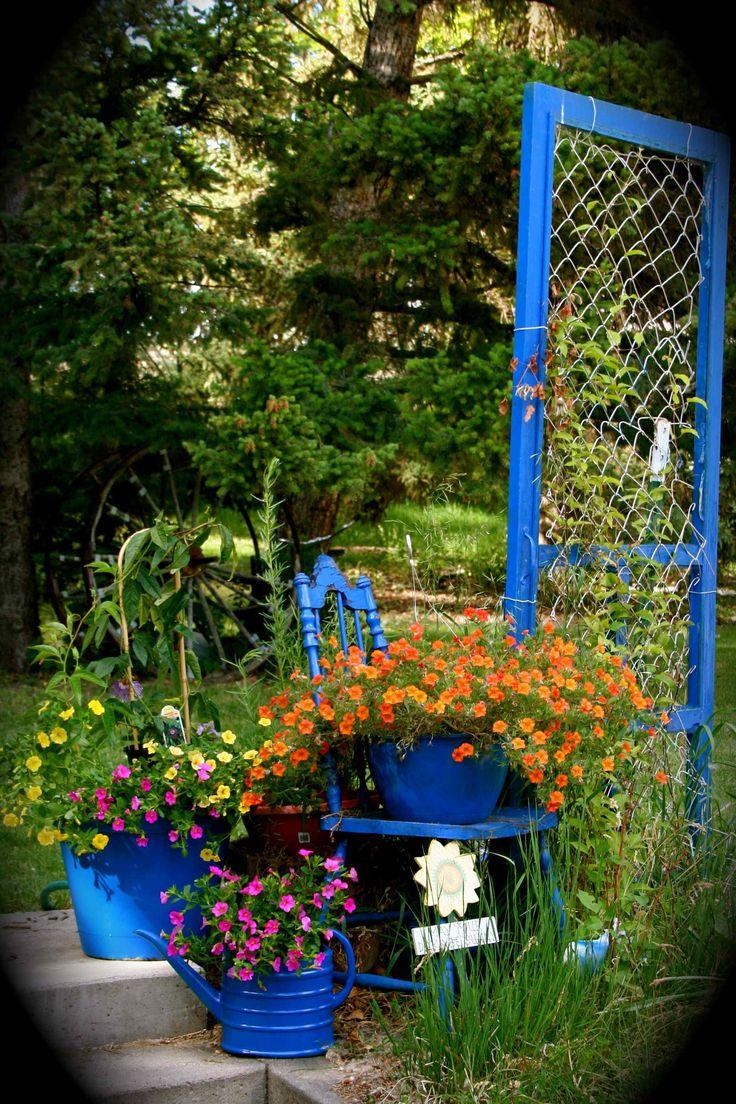 546 best Garden Decor images on Pinterest | Garden art, Gardening ...