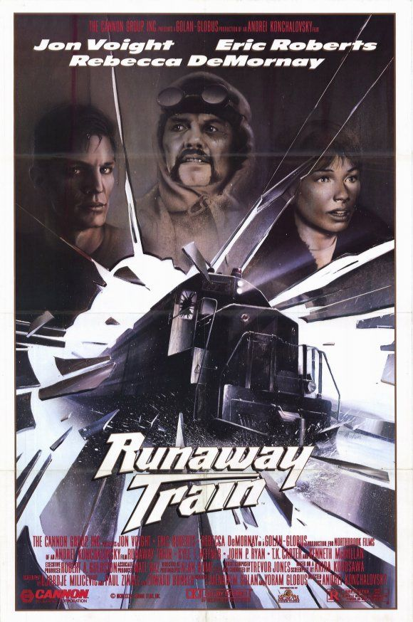 Runaway Train (1985) Stars: Jon Voight, Eric Roberts, Rebecca De Mornay, Kyle T. Heffner, John P. Ryan, T.K. Carter, 	Kenneth McMillan ~ Director: Andrey Konchalovskiy (Nominated for 3 Oscars; Jon Voight won a Golden Globe for Best Actor)