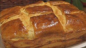 Фото к рецепту: Пирог с Сыром. Невероятно Вкусный!